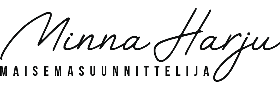 Maisemasuunnittelija Minna Harju logo